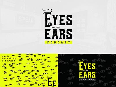 Eyes & Ears Podcast Brand design branding music logo brand