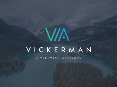 Vickerman Investment Advisors Marketing animation website logo 3d branding brand web ui