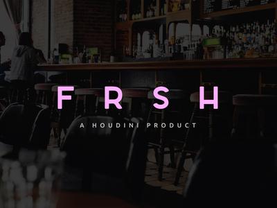 FRSH Site branding logo brand product web