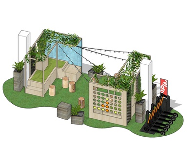 Parklet Design fabrication urban design parklets