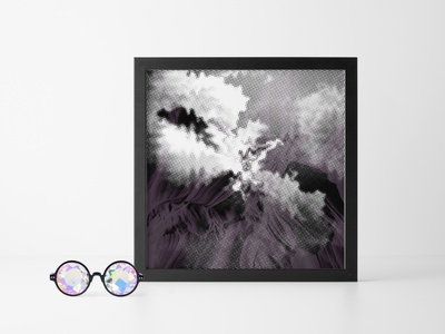 Terrain 12 / Cave Series photography print gallery experience digital art