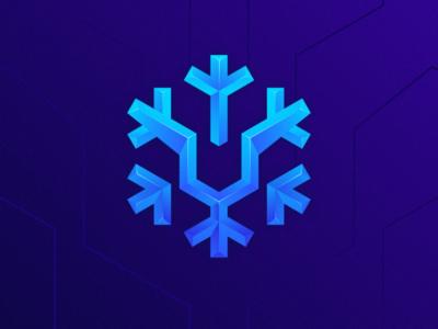 snow leopard ui illustration snow leopard app icon icon logodesign colorful simple branding design identity logo