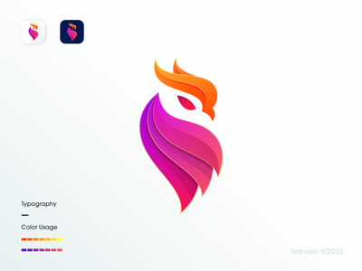 owl logo branding and identity animal logo bright color coloful logo owl logo owl character logodesign illustrator simple colorful brand branding design identity logo