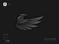 dark eagle eagle logo eagle business logodesign illustrator simple colorful brand branding design identity logo