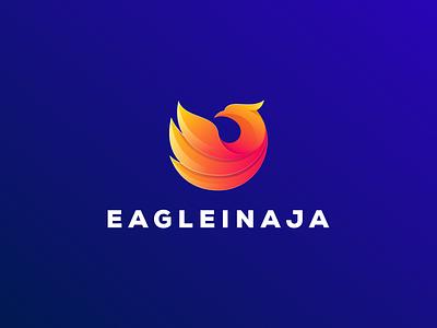 eagle logo eagle logodesign cute illustrator simple colorful brand branding design identity logo