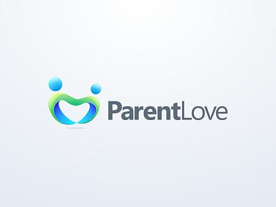 parent love logo design icon app people connect love parent dating logodesign cute illustrator simple colorful brand branding design identity logo