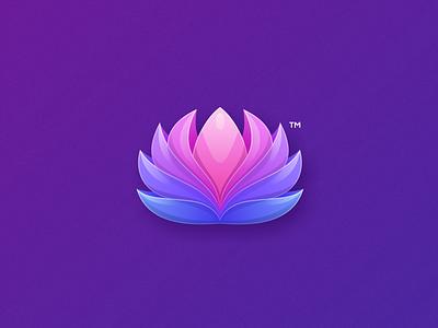 lotus mind mind yoga lotus business logodesign cute illustrator simple colorful brand branding design identity logo