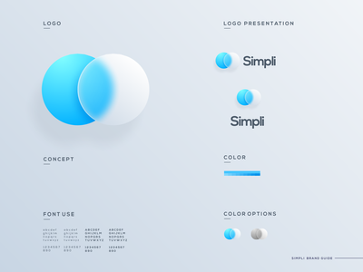 Simply Icon ios effects glass morphism website app icon vector ui illustration simple colorful brand branding design identity logo