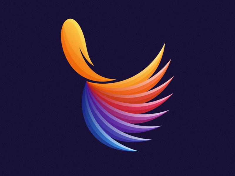 colorful fish illustration animal vector character designer logodesign business illustrator cute colorful brand branding design identity logo