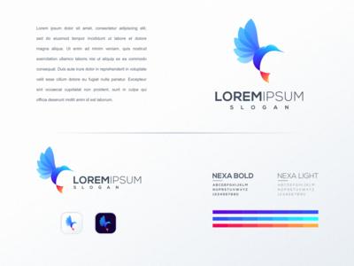 bird logo idea