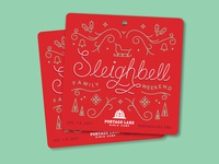 Sleighbell Coornament (Coaster/Ornament)