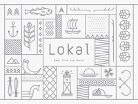 Collection of Lokal illustrations