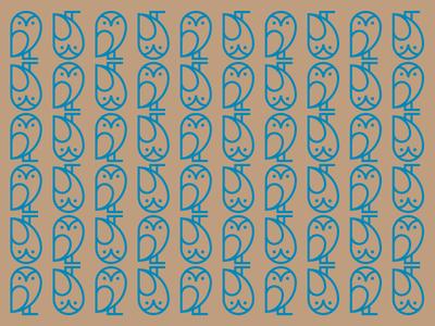 Owl illo mark minneapolis icon logo f who 1970 illustration pattern owl