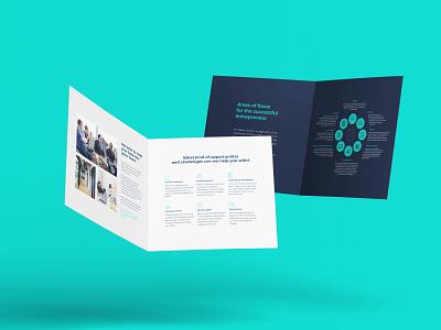 Insane Growth brochure layout brochure design brochure brand logodesign mark brand identity brand design logotype branding vector design logo