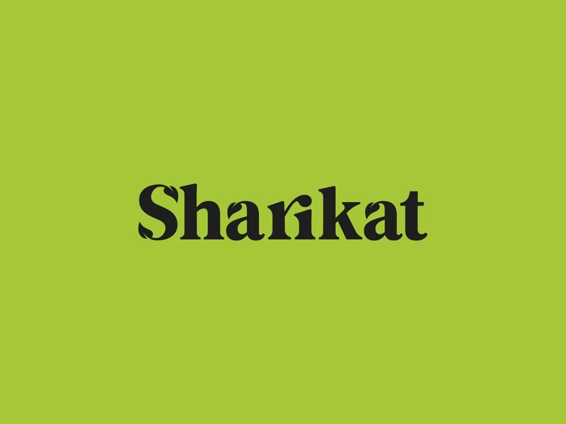 Sharikat stationery businesscard card leaves leaf natural organic nature logodesign mark brand identity brand design logotype branding vector design logo