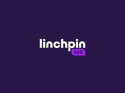 Linchpin digital logo construction logo grids logo grid marketing agency marketing seo lettermark lettering brand typography logodesign mark logotype brand identity brand design branding vector design logo