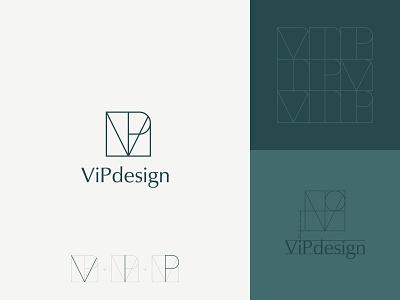 ViPdesign stationery monogram architecture interiordesigner interiordesign interior pattern brand logotype logodesign brand design mark brand identity branding vector design logo