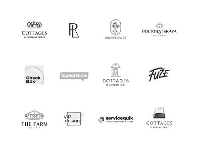 Logo collection logofolio collection logotypedesign logoset logocollection brand typography logodesign logotype mark brand identity brand design branding vector design logo
