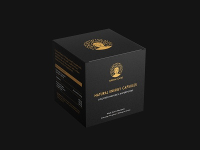 Buddha Goods nature box design logo inspiration natural blend illustration package design packaging design package organic natural buddha brand identity mark brand design branding vector design logo