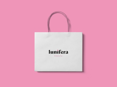Lunifera female design skincare logo skincare brand cosmetics product design package design packaging design packaging logotype brand identity brand design branding vector design logo