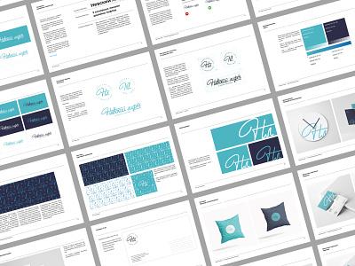 Nevsky elevator - Brandbook layout identity design identity system color grid guideline guide brandbook pattern mark typography brand identity brand design logotype branding vector design logo