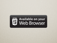 Available on your web browser