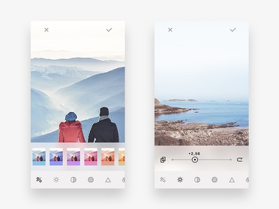 Image Editing camera photo image ui app