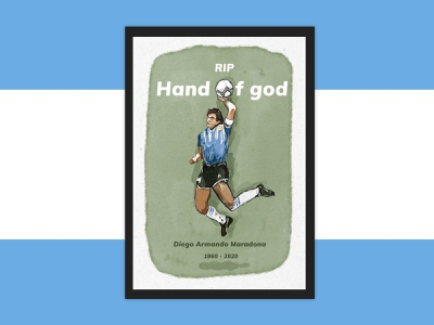 Rest in peace legend. football maradona digitalart