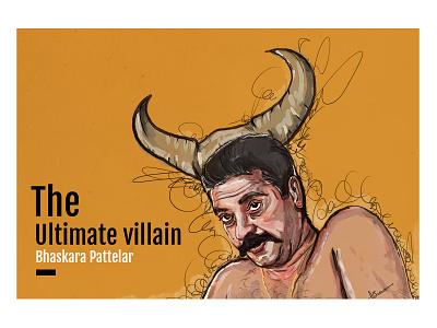 Digital Art- Vidheyan Movie art digital character