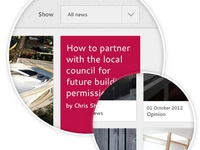 User Interface Shaw Corporation