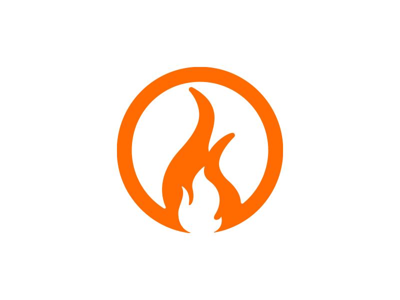 Torch Logo By Joe Dribbble