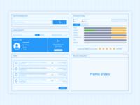 Landing Page Blueprint UI
