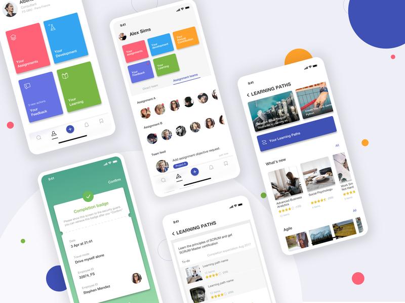 Office Ecosystem Hybrid App app designer product page office tools uiux hybrid app overview platform app design ui ecosystem