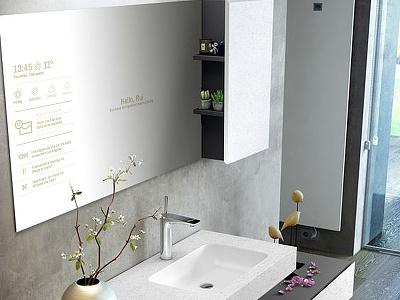 Smart Mirror - Daily Ui Challenge 6/10 challenge touch design interface user ui smart mirror