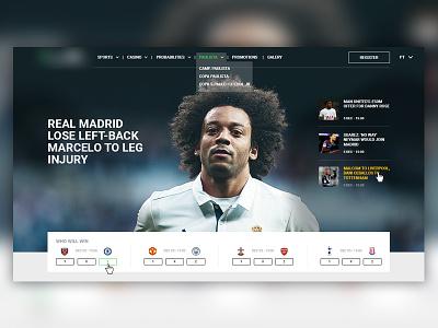 Header for a Sportsbook blog probabilities odds herobanner news sports gaming sportsbook betting bet blog header