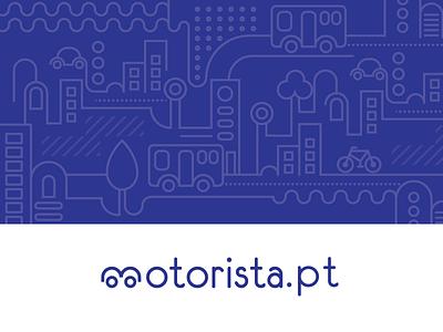 motorista.pt geometric adobe illustrator illustration vector branding brand