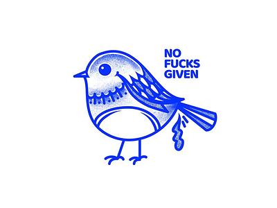 Nofucksgiven merch apparel poop poo nofucksgiven bird cardinal texture illustrator illustration vector