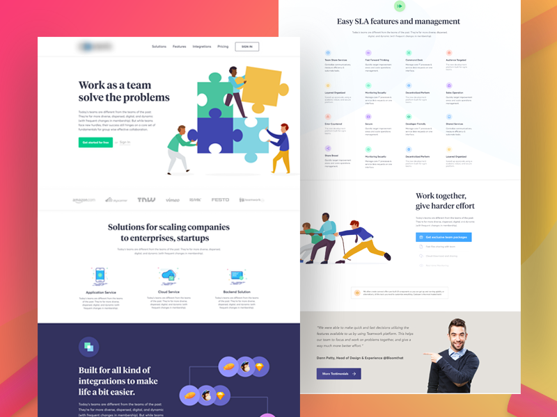 TeamWork Homepage