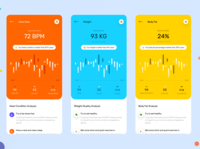 Fitness App Next Screens