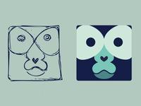 Monkey Logo Minimal