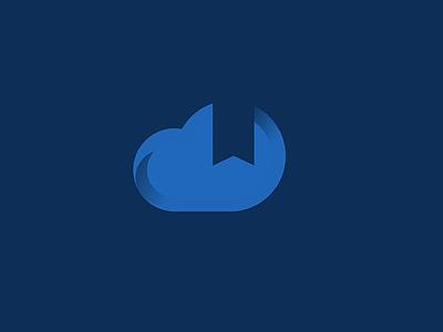 cloud bookmark icon bookmark cloud content design