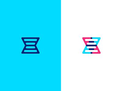 DNA Double Helix mark lulofs design lulofs logo design concept logo design identity branding helix dna logo branding together 23 brand identity brand design