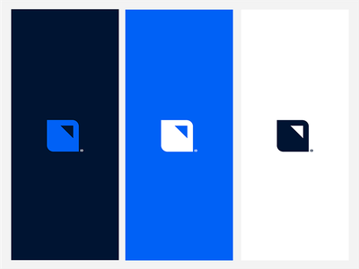 Intelligent Distribution identity distribution on point square wip logodesign concept color branding brand identity brand logo design