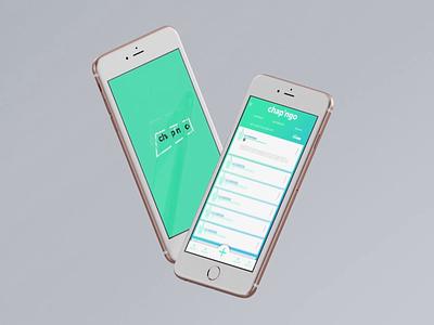 Chap' artistic direction desiginspiration app cool ui ux application animation design
