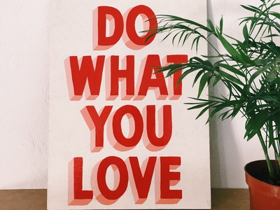 ❣️Do what you love, and love what you do ❣️