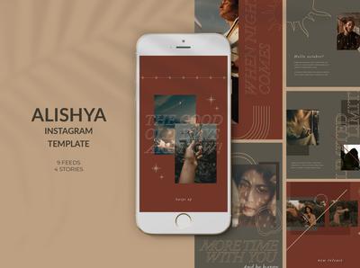 Alishya Instagram Templates