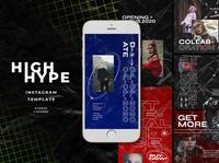High Hype Instagram Templates