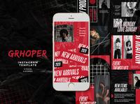 Grhoper Instagram Templates