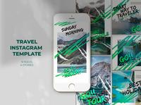 Travel Instagram Templates