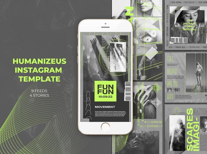 Humanizeus Instagram Templates
